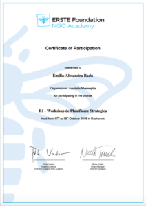 Certificate Strategic Planning Monomyths Association