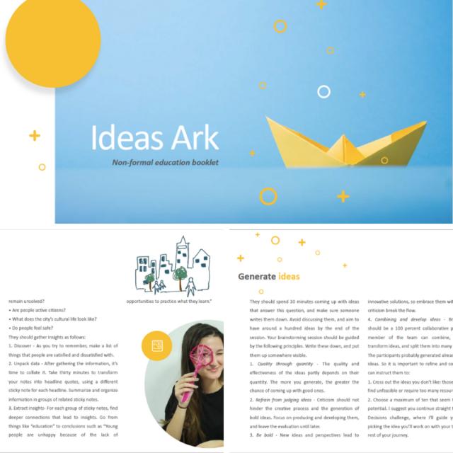 Ideas Ark booklet